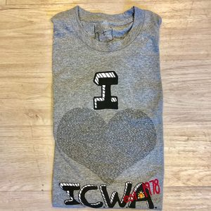 folded icwa shirt black