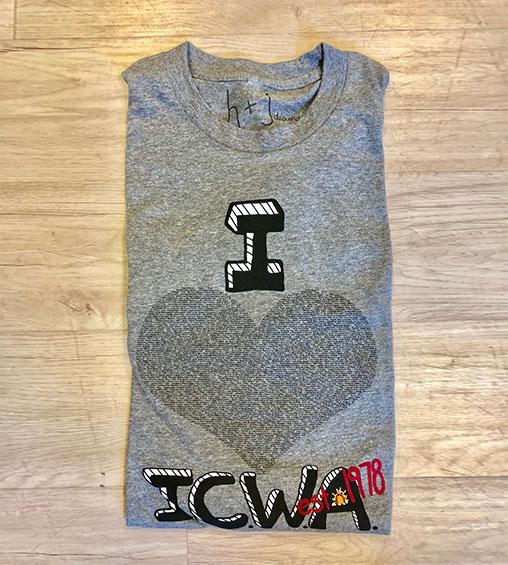 folded icwa shirt black